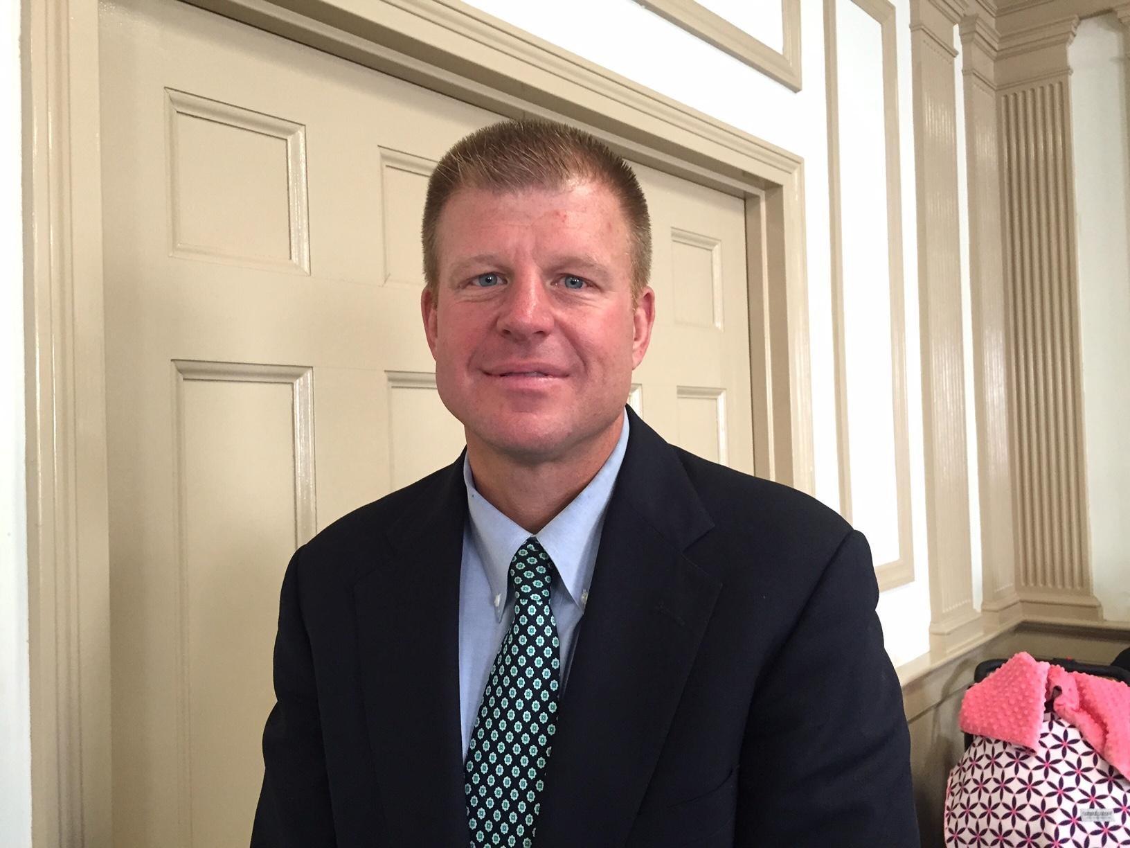 West Morris Central High School Athletic Director Kent W. Schilling.