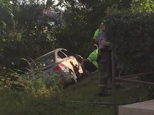 Car hits church off Fairfield Drive (6)