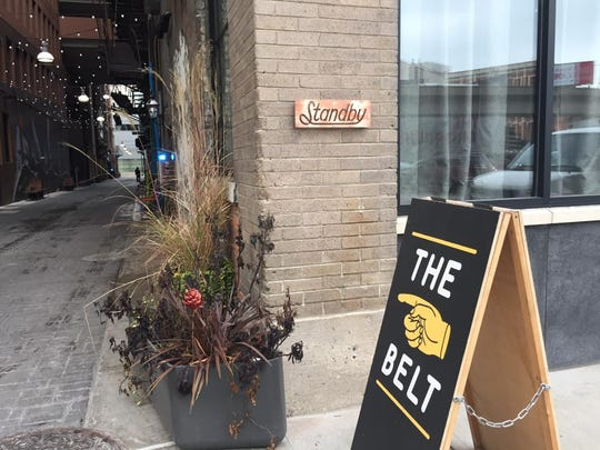 The new Standby craft-cocktail destination opened Wednesday on Detroit's Belt Alley at Gratiot.