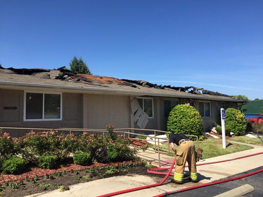 A fire at the Meadowood Townhomes clubhouse caused an estimated $150,000 in damage.