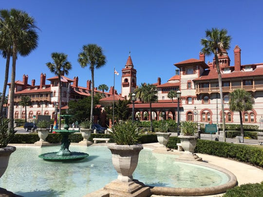 Flagler College is a magnificent example of Spanish Renaissance architecture. Once known as the Ponce De Leon Hotel built by railroad magnate Henry Flagler, where he and his Gilded Age guests enjoyed the opulence of the times, escaping cold northern winters and basking in warm Florida sunshine.