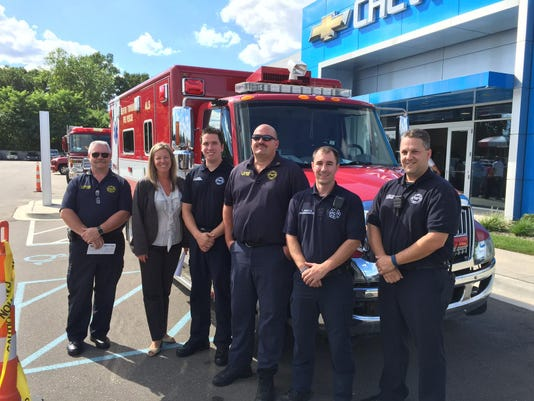 RDF FF Receive check from Matick Chevy