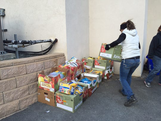 Food donations pour into the Helmetta Regional Animal