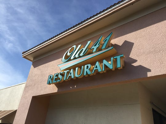Old 41 Restaurant gives snowbirds a place to eat like they would back home.