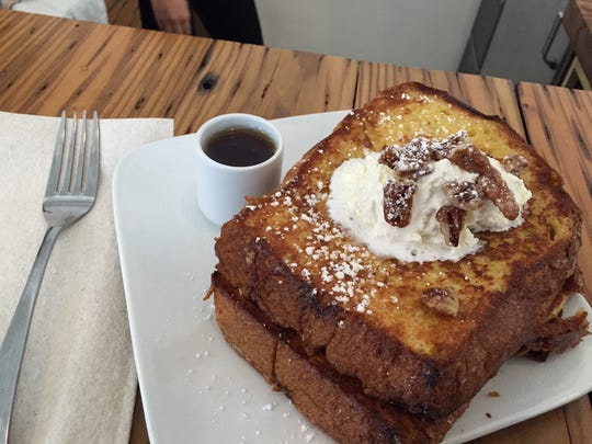 French toast at Cheapside.