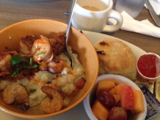 A favorite at Tucker's: shrimp and grits.