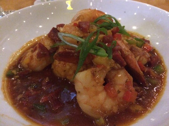 Ralph's Killer Shrimp & Grits is $10 at Cork Soakers in Cape Coral.