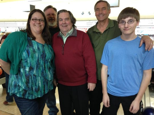 The Musings team: Stacey Dogonski, Dave Dogonski, Bill Joyner, Dave Morrow and Zachary Behr.