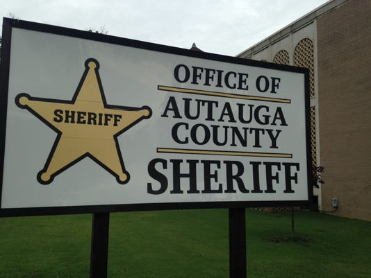 Autauga Sheriff sign
