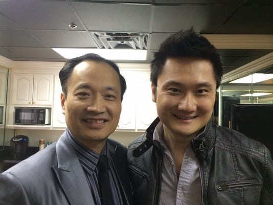 Dr Ming Wang and the actor Paul Kwo who played Ming in God is not dead (2).jpeg