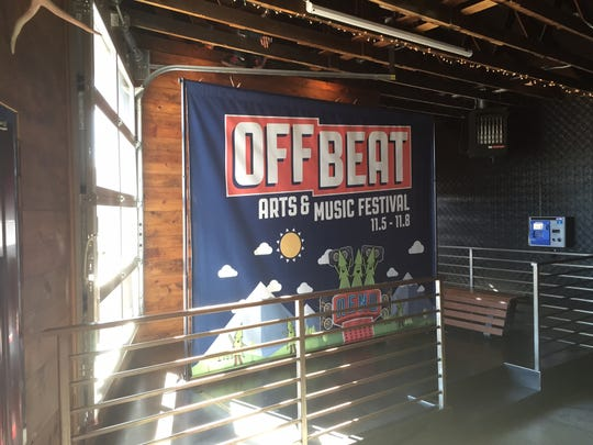 The inaugural Off Beat Arts & Music Festival will be held this November at the Arch, Midtown and Old Brewery Districts in downtown Reno
