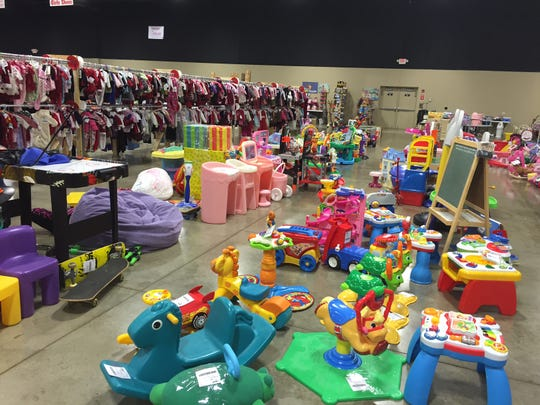 The JBF holiday sale is today and Saturday at Remington's.