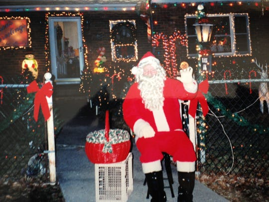 McAndrews was First Street's Santa Claus for more than