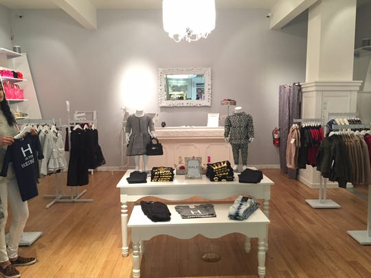 Kid Couture Boutique, which opened 6 weeks ago at the Palisades Center in West Nyack, caters to to 2- to 12-year-old girls and boys, and a newborn line is coming soon.