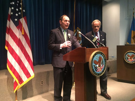 Secretary of Veterans Affairs Robert A. McDonald toured the Wilmington VA Medical Center Monday. The event was organized by US Sen. Tom Carper (D-Del.).