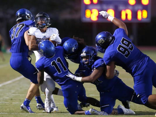 Chandler vs. Red Mountain