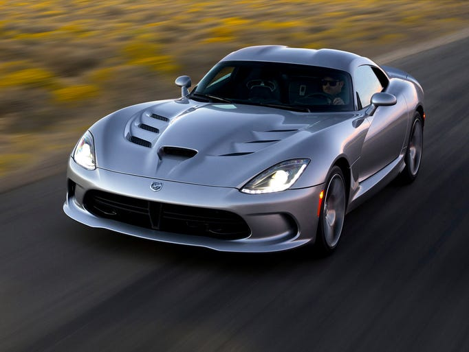 The 2015 Dodge Viper SRT at Willow Springs Raceway,