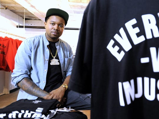 "Tommey Walker, who created the ""Detroit Vs Everybody"" brand, announced a limited release of a hoodie reading ""Detroit Vs The Refs"" on his Instagram account Tuesday."