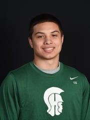 Spackenkill boys basketball player Camron Abalos