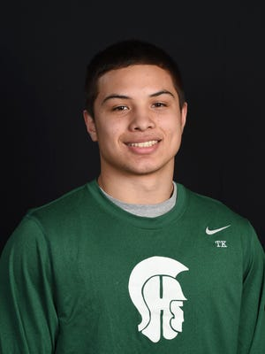 Spackenkill boys basketball player Camron Abalos