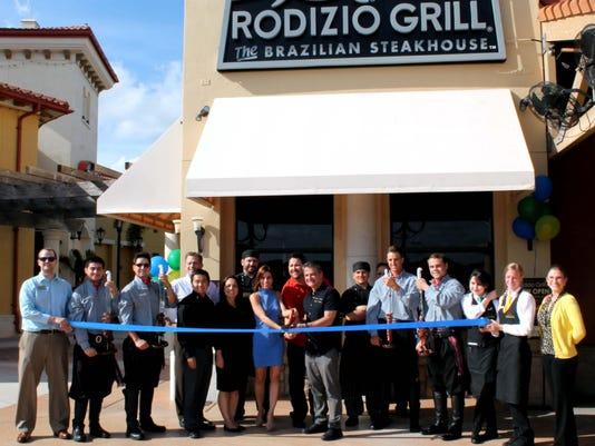 Rodizio Grill Ribbon Cutting