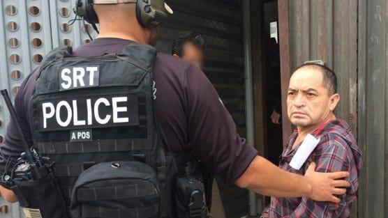 Heriberto Gomez Galicia was arrested in Watsonville on suspicion of multiple murders in Oaxaca several years ago.