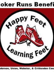 Happy Feet Learning Feet logo