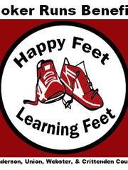 Happy Feet Learning Feet logo