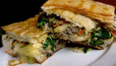 Seasonal Chef Cuban Sandwich.