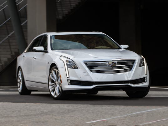 Cadillac re-enters luxury competition with CT6 sedan