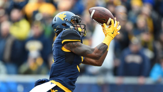 The Bengals picked West Virginia wide receiver Mario Alford with their final selection in the NFL Draft.