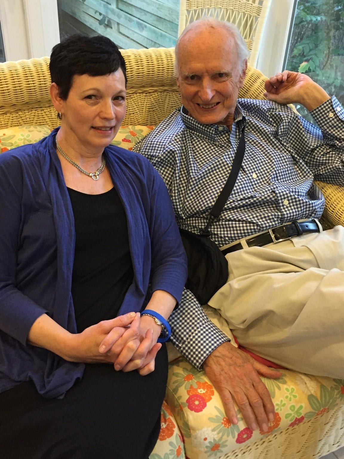 Beverly and Bill Hudnut on June 12, 2015.