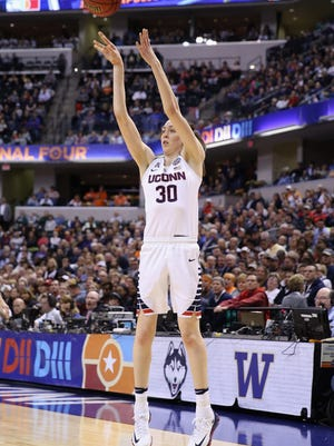 Connecticut basketball star Breanna Stewart is a finalist for the Honda Cup.