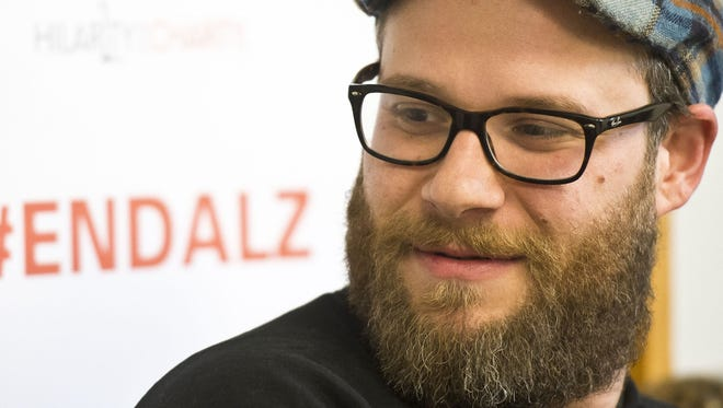Seth Rogen visits the University of Vermont in April, 2015.