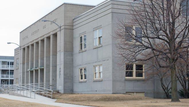 The exterior of the Sheboygan Armory Monday March 23, 2015 in Sheboygan.