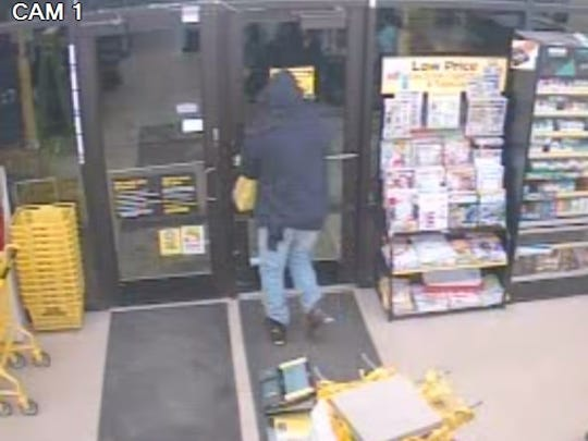 Suspect in a Schofield armed robbery.