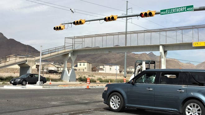 The pedestrian bridge over Dyer Street by Ellerthope Avenue will be demolished.