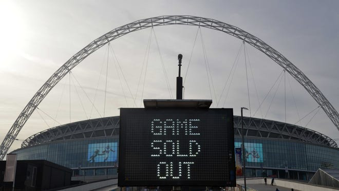 The Jacksonville Jaguars have played five games at Wembley Stadium, and drawn big crowds each time.