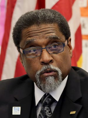 Darnell Earley, emergency manager for Detroit Public Schools, former emergency manager for Flint.