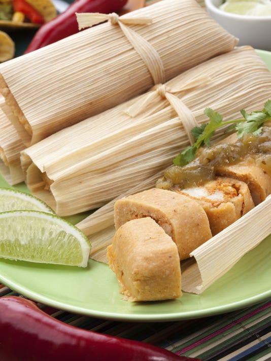 Chicken Tamales.