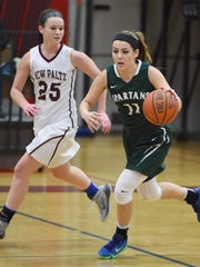 Spackenkill's Christina Hartenfels is covered by New