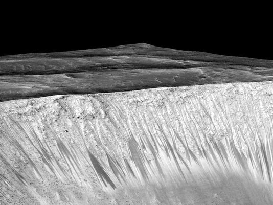 SPACE-ASTRONOMY-MARS-WATER
