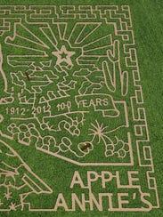 En 2012, la huerta Apple's Annie en Wilcox celebró