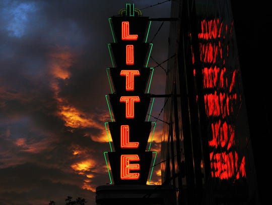 The Little Theatre on East Avenue in Rochester.