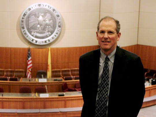 New Mexico Sen. Peter Wirth, D-Santa Fe, poses for