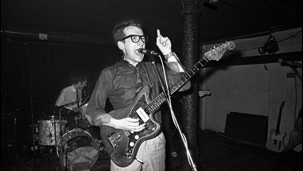 With albums such as 'New Model Army,' Elvis Costello was one of the hottest acts in rock when he came to Rochester in 1979.