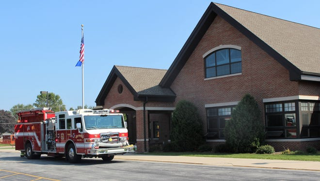 The Town of Sheboygan responded to Lincoln-Erdman Elementary School on Tuesday due to a malfunctioning ceiling fan.