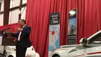 Ohio Gov. John Kasich talks about the state's efforts to get in on self-driving cars
