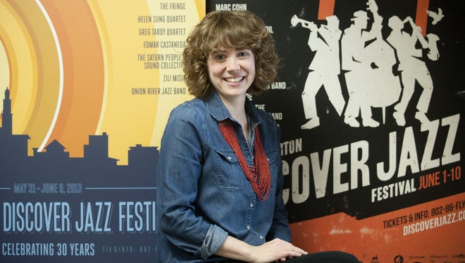 Linda Little, shown in 2013, will step down Aug. 31 as managing director of the Burlington Discover Jazz Festival.