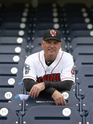 Steve Scarsone is beginning his second season as the Nashville Sounds' manager.